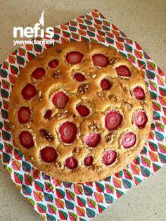 Çilekli Kek (Toz Pudingli)  #çileklikek #kektarifleri #nefisyemektarifleri #yemektarifleri  #tarifsunum #lezzetlitarifler #lezzet #sunum #sunumönemlidir #tarif  #yemek #food #yummy