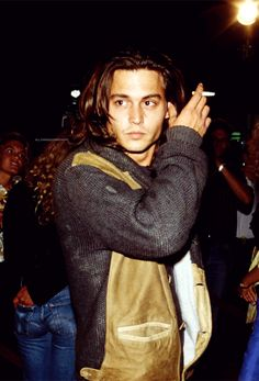 Johnny Depp when he was younger...its ridiculous that he could look THIS GOOD as a YOUNG guy and even MORE HOT as he got older!!