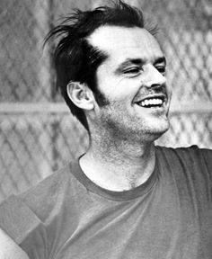 Jack Nicholson filming One flew over the cuckoo's nest