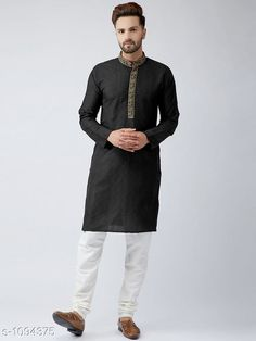 Kurta Sets Ethnic Cotton Men's Kurta  Fabric: Kurta - Cotton Sleeves: Full Sleeves Are Included Size: Kurta - S M L XL ( Refer To Size Chart) Length: (Refer Size Chart) Type: Stitched Description: It Has 1 Piece Of Men's Kurta Pattern: Solid Country of Origin: India Sizes Available: XXS, XS, S, M, L, XL, XXL, XXXL, 4XL, 5XL, 6XL, 7XL, 8XL, 9XL, 10XL, Free Size   Catalog Rating: ★3.9 (516)  Catalog Name: Men's Ethnic Cotton Kurta Vol 5 CatalogID_134307 C66-SC1201 Code: 647-1094375-0102