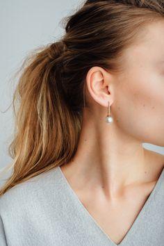 0d8836b4c Proud Pearl Earrings White Diamonds, Fine Jewelry, Pearl Earrings, Pearl  Studs, Beaded