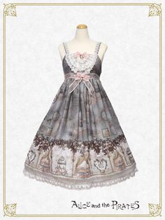 Forest where the Angels Live jumper skirt Ⅱ