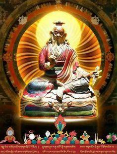 Dudjom Lingpa.  Tibet - Bouddhisme.
