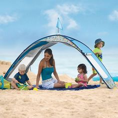 Sun Smarties Family Beach Cabana Tent - One Step Ahead Baby well priced great for  sc 1 st  Pinterest & Hit the Beach Baby! Must-Have Gear for a Day at the Shore | Tents ...
