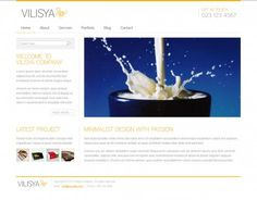 Vilisya WordPress Theme
