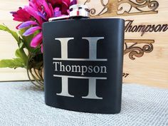 2 Personalized Flasks Personalized Groomsmen by AwardSourceLLC