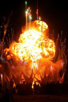 Burning Man!  My first burn 2009.  Partied so hard that night.  Don't know how many times I crashed by bike.