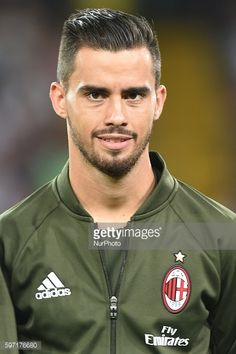 News Photo : Fernandez Suso of AC Milan during the Serie A...