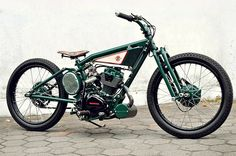Dariztdesign Honda GL100  That's a bobber