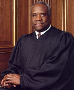 Clarence Thomas is confirmed as the 106th associate justice of the U.S. Supreme Court, its 2nd African American (succeeding Justice Thurgood Marshall) on Oct 16, 1991. Justice Thomas is generally viewed as among the most conservative members of the Court. He's approached federalism issues in a way that limits the power of the federal government & expands power of state & local governments. At the same time his opinions have generally supported a strong executive branch w/the federal…
