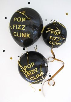 new year's eve balloons!