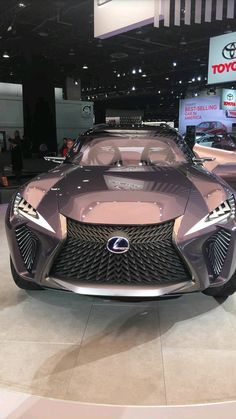 Lexus, car goals, rose gold / @riddhisinghal6