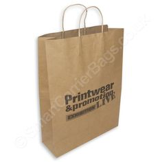 UK's leading retail & wholesale manufacturer of personalised twisted handle paper carrier Bags. Huge collection paper bags with handles Paper Carrier Bags, Paper Bags, Bags Uk, Wholesale Bags, We Can Do It, Quality Printing, Biodegradable Products, Paper Shopping Bag, Company Logo