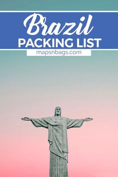 It's almost summer in Brazil! Are you going to miss it? Check out the ultimate packing list for Brazil that you can use on your next trip to Rio de Janeiro, Bahia, and more! Downloadable, printable packing list. | Rio de Janeiro packing list | what to pack for Brazil | what to wear in Brazil | Brazil packing list | summer packing list | south america packing list #SouthAmerica