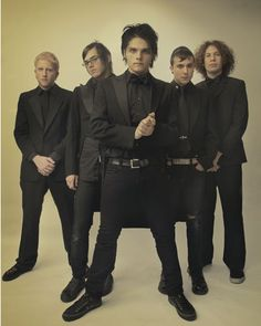 My Chemical Romance. And my depression post starts now. Fall Out Boy comes back and My Chemical Romance breaks up. Lord giveth and Lord taketh away