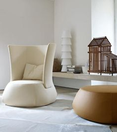 B Italia fauteuil Fat van Patricia Urquiola