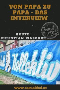 Mein neuestes Interview habe ich mit Christian Wascher geführt. Er ist Vorstand Marketing beim FC Blau Weiß Linz ... Interview, Broadway Shows, Dads, Marketing, Casual, Daddy And Son, Father And Baby, Stay At Home, Parental Leave