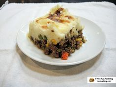 Man Fuel Food Blog - The difference between Shepherd's Pie and Cottage and how to make them!