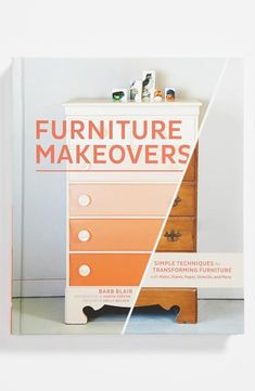 Booktopia has Furniture Makeovers, Simple Techniques for Transforming Furniture with Paint, Stains, Paper, Stencils and More by Barbara Blair. Buy a discounted Hardcover of Furniture Makeovers online from Australia's leading online bookstore. Refurbished Furniture, Repurposed Furniture, Furniture Makeover, Painted Furniture, Diy Dresser Makeover, Furniture Projects, Home Projects, Diy Furniture, Antique Furniture
