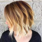 Melted brown and blonde balayage by Christina Gunnell
