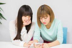 ナタリー - [Power Push] ℃-ute au「ブックパス」インタビュー (1/2) / 左から中島早貴、萩原舞。