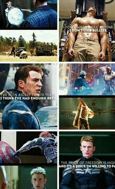 I've been asleep for 70 years I think I've had enough rest - Cap