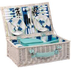 coastal style picnic hamper from Heal's