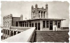 Waverly Hills- what the roof top looked like back in the day