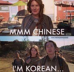 Walking dead Korean