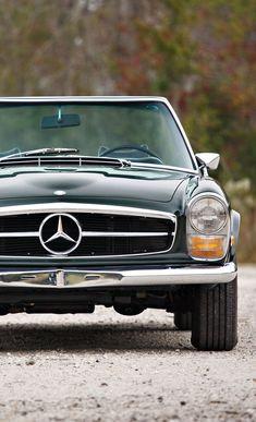 1969 Mercedes Benz 280 SL Cars Classic Vintage Auto