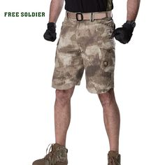 FREE SOLDIER outdoor sports tactical military men & summer cargo shorts hiking short pant for climbing fishing Hiking Shorts, Military Men, Mens Suits, Hiking Clothes, Sports, Outdoor, Climbing, Outfits, Fishing