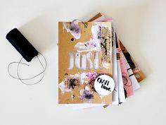 challenge mini mood book art journal creation pause créative joli mess scrapbooking couture 23