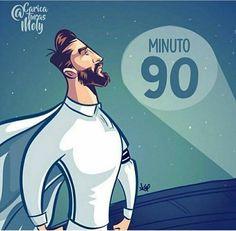 Sergio Ramos el capi #Minuto90