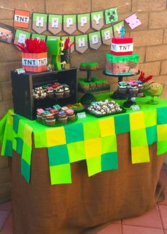 cake ideas for minecraft little kelly - Google Search