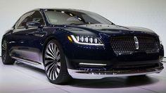 The 2016 Lincoln Continental luxury sedan. Luxury Sports Cars, New Sports Cars, Sport Cars, Lincoln Motor Company, Ford Motor Company, Lincoln Continental, Bike Engine, Jeep Grand Cherokee, Honda Accord