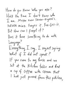 Maira Kalman on Identity, Happiness, and Existence | Brain Pickings