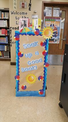 Summer Reading Display-high school