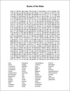 books of the bible printable