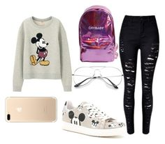 """""""Untitled #36"""" by sinai05 on Polyvore featuring Uniqlo and MOA Master of Arts"""