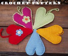 Crochet Heart, Crochet Pattern PDF,Easy, Great for Beginners, Pattern No. 21