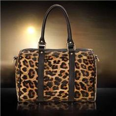 New Arrival Fashion Leisure Leopard Design Lady's Handbags Leather Handbags, My Style, Lady, Design, Women, Fashion, Moda, Leather Totes, Fashion Styles