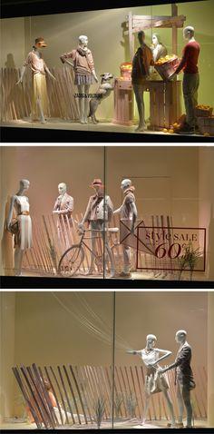 Holt Renfrew Summer Sale windows, Toronto.  http://retaildesignblog.net/category/visual-merchandising/
