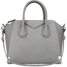 Givenchy Antigona Bag with metal details found on Polyvore
