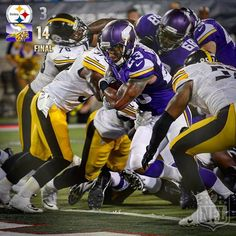 First win of the preseason? It belongs to the @minnesotavikings!  #PITvsMIN by nfl check out theleftbench.com! check out theleftbench.com for more sports!