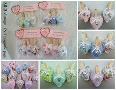 MAGNETIC PEGS PACK 3 CHOOSE FROM 4 COLOURWAYS - The Supermums Craft Fair