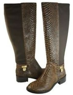 0b9df11a2501 See why fashionistas trust Tradesy for guaranteed authentic Michael Kors  Boots   Booties at up to off.