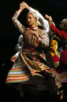 hungarian folk dance from Kalotaszeg