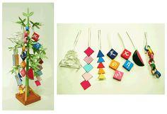 七夕特集 | 七夕飾りのペーパークラフト Diy And Crafts, Crafts For Kids, Arts And Crafts, Paper Crafts, 5th Grade Graduation, Origami, Star Festival, Tanabata, Child Day