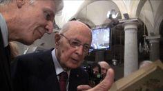 Il Presidente Napolitano rivive le emozioni del 1410 grazie a Grafiche Damiani