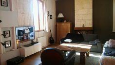 Interieur salon moderne et chaleureux